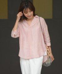 【雑誌掲載】フレンチリネンシャツ