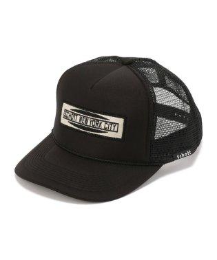 【WEB限定】TRUCKER CAP Schott NYC PATCH/トラッカー メッシュ キャップ