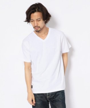 【WEB&DEPOT限定】スモールボックスロゴ VネックTシャツ/SMALL BOX LOGO T-SHIRT