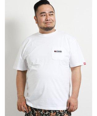 【大きいサイズ】アウトドアプロダクツ/OUTDOOR PRODUCTS コットン天竺ポケット付クルーネック半袖Tシャツ