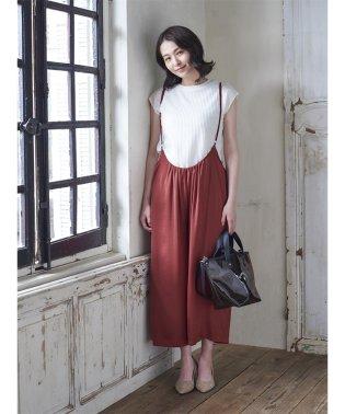【WEB限定】エムエフエディトリアルレディース/m.f.editorial:Women ワッフルフレンチスリーブプルオーバーTシャツ(7カラー展開)