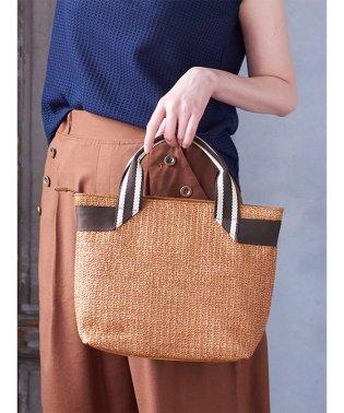 【WEB限定】エムエフエディトリアルレディース/m.f.editorial:Women 配色ハンドルトートバッグ
