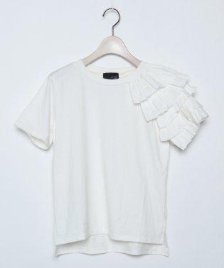 GRANDTABLE(グランターブル) フリルショルダーTシャツ