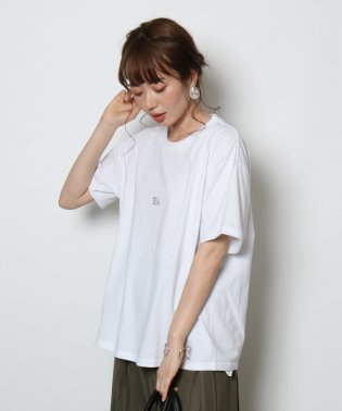 etto(エット) TEA&SAHARAロゴTシャツ