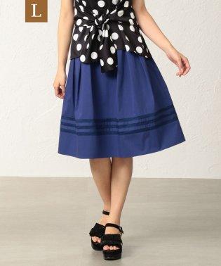 【L】【はっ水】【ウォッシャブル】タイプライタースカート
