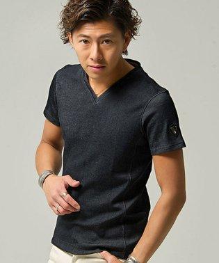 VIOLA【ヴィオラ】無地Vネック半袖Tシャツ