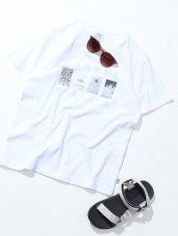 SUMMER WAVE フォトプリントTシャツ