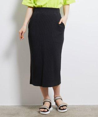 リブカットタイトスカート