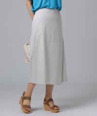 【洗える】Fabricaラップスカート風パンツ