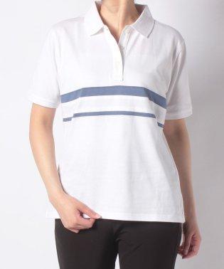 【一部店舗限定】McG半袖パネルボーダーポロシャツ