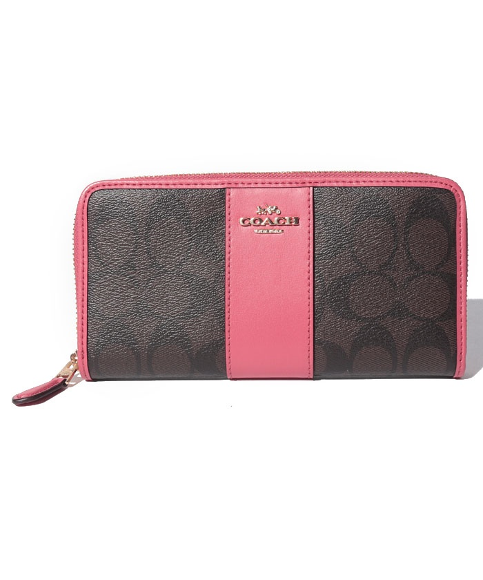 COACH OUTLET F54630 IMLOQ ラウンドファスナー長財布