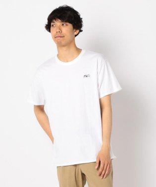 【PEANUTS×FREDY MAC】スヌーピーワンポイント刺しゅうTシャツ