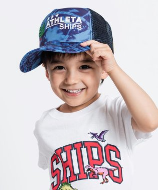 ATHLETA:【SHIPS KIDS別注】メッシュ キャップ