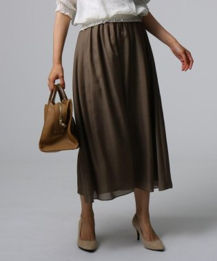[L]ギャザーマキシスカート