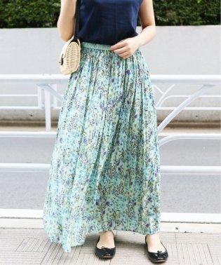 《追加5》ボタニカルマキシスカート◆