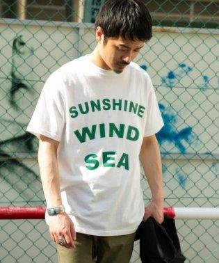 ロゴプリント製品染めTシャツ
