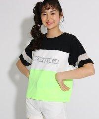 ★ニコラ掲載★【kappa】切替 Tシャツ