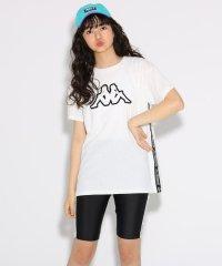 ★ニコラ掲載★【kappa】Tシャツ+サイクルパンツ セット
