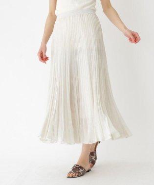 【WEB限定カラーあり】LEVITAサマーニットプリーツスカート