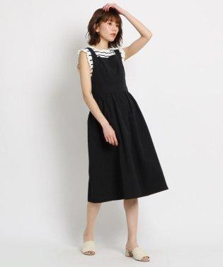 【洗える】グログランジャンパースカート