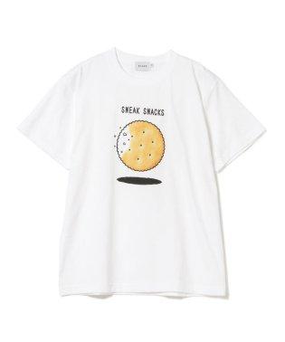 BEAMS / SNEAK SNACKS プリント Tシャツ