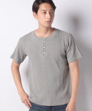 【INCREWSIVE】11.5オンス ランダムワッフル コットンTシャツ