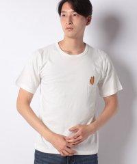 【INCREWSIVE】6.5オンス コットン ワンポイント刺繍Tシャツ
