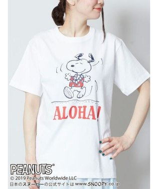【Kahiko】SNOOPY スヌーピーTシャツMサイズ ALOHA 4JU-9211