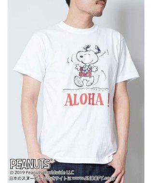 【Kahiko】SNOOPY スヌーピーTシャツLサイズ ALOHA 4JU-9212