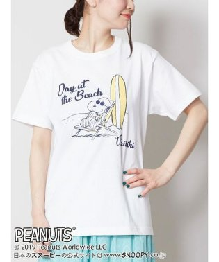 【Kahiko】SNOOPY スヌーピーTシャツMサイズ BEACH 4JU-9214