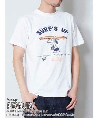 【Kahiko】SNOOPY スヌーピーTシャツLサイズ SURF'S UP 4JU-9218