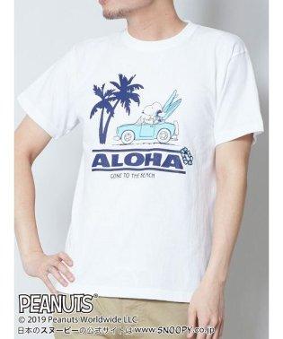 【Kahiko】SNOOPY スヌーピーTシャツLサイズ CAR 4JU-9224