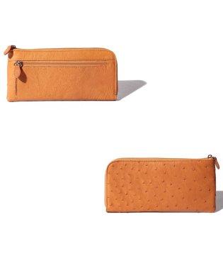 【ostrich】オーストリッチ ハーフポイント L字 長財布