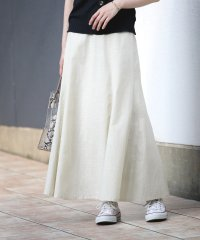 【WEB限定】スラブガーゼマーメイドスカート