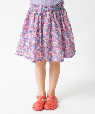 インパンツ付ギャザースカート