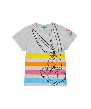 【バッグス・バニーコラボ】ロゴ半袖Tシャツ2