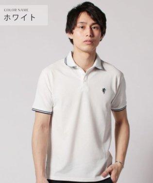 (スプ) SPU TC鹿の子ワンポイント刺繍半袖ポロシャツ