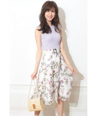【MAGASEEK/d fashion限定カラー】エアリーティアードドッキングワンピース