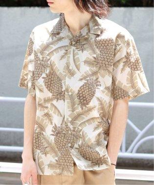 アロハパイナップルオープンカラーシャツ