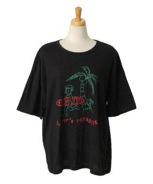 ハワイアンボーイプリントTシャツ