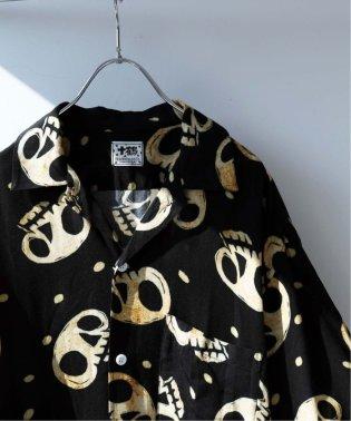 《予約》工房十鶴/ JIKKAKU オープンカラーシャツ