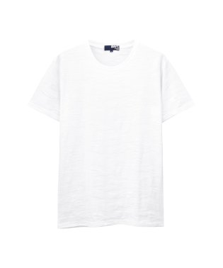 NAVY ジャガード カモフラ柄Tシャツ 391148MH