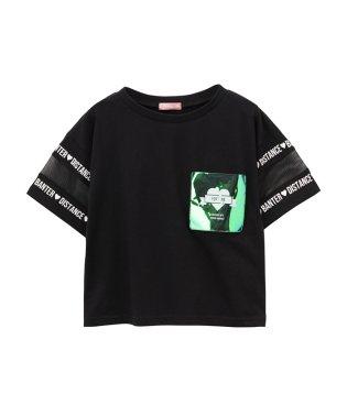 NAVY オーロラポケット 半袖Tシャツ 66645NM