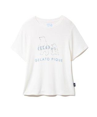 【シロクマフェア】ワンポイント冷感Tシャツ