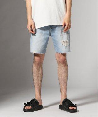 CK Jeans / カルバンクラインジーンズ :BLUE DENIM STRAIGHT ショーツ