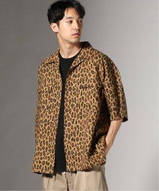 LEO LINEN オープンカラー シャツ