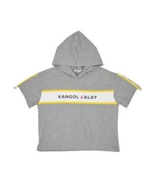 KANGOL(カンゴール)コラボフード付きT