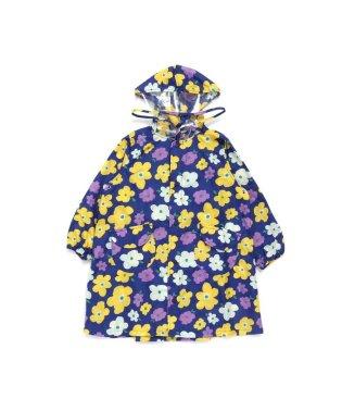 花柄ランドコート