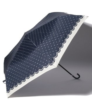 シンプルドット折りたたみ傘 雨傘