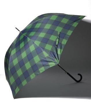 マドラスチェック長傘 雨傘/ユニセックス